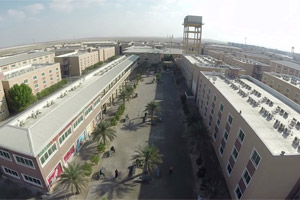 Second bird eye view of worker accommodation near mussafah Abu Dhabi